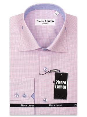 Рубашка Pierre Lauren. Цвет: розовый