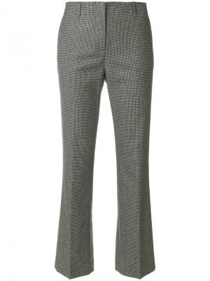 Укороченные брюки Ql2. Цвет: серый