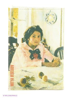 Обложка Mitya Veselkov. Цвет: молочный, розовый, желтый, зеленый
