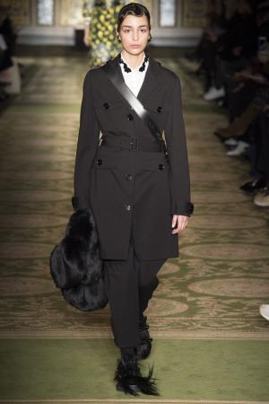 Однотонные брюки Simone Rocha. Цвет: черный