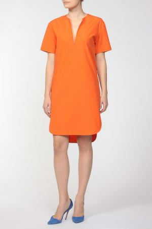 Платье Costume National. Цвет: оранжевый