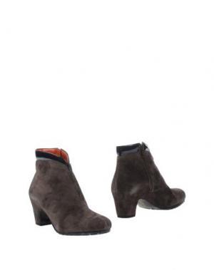 Полусапоги и высокие ботинки KATRIN. Цвет: свинцово-серый