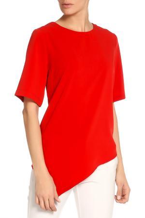 Блузка-топ Elvi. Цвет: красный