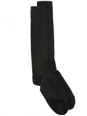 Носки по колено Unravel Project. Цвет: чёрный
