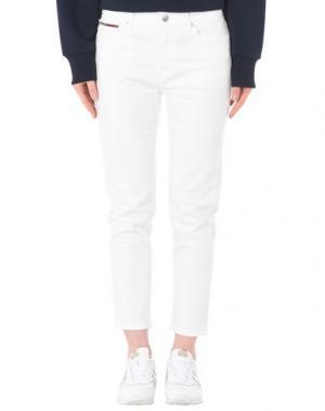 Джинсовые брюки TOMMY JEANS. Цвет: белый