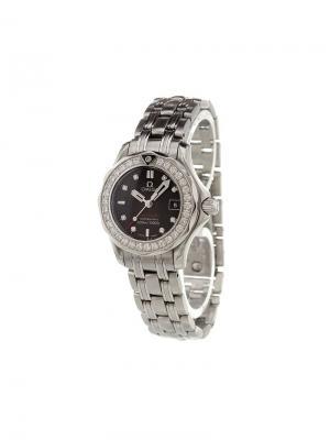Аналоговые часы Seamaster Omega. Цвет: металлический