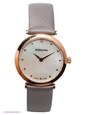 Часы RODANIA. Цвет: серый