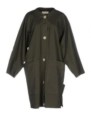 Легкое пальто SOHO DE LUXE. Цвет: зеленый-милитари