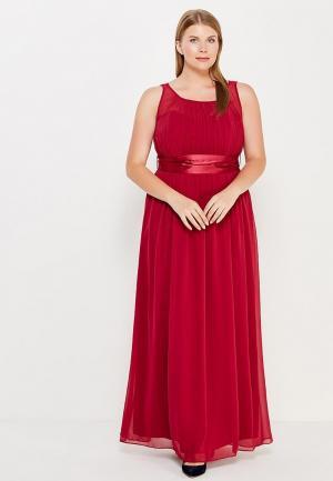 Платье Dorothy Perkins Curve. Цвет: бордовый