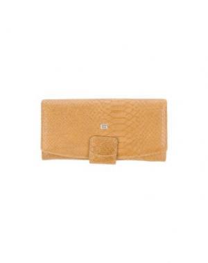 Бумажник GIUDI. Цвет: песочный