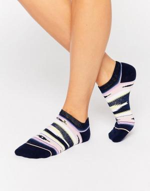 Stance Невидимые носки Senorita. Цвет: темно-синий