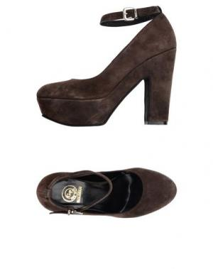 Туфли G.P. PER NOY BOLOGNA. Цвет: темно-коричневый