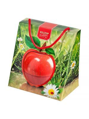 Чай Hilltop Подарок Цейлона 50 гр., Красное яблоко в весеннем футляре. Цвет: черный
