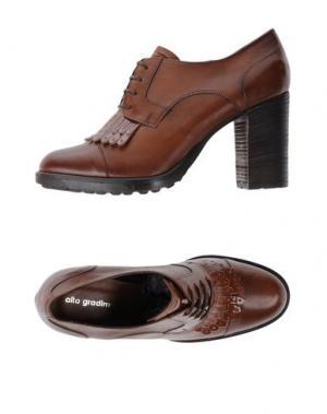 Обувь на шнурках ALTO GRADIMENTO. Цвет: коричневый