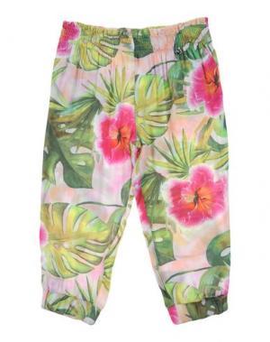 Повседневные брюки MICROBE. Цвет: зеленый
