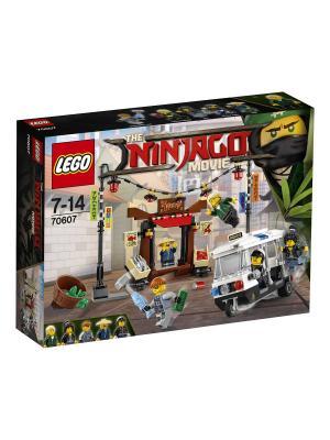 Ninjago Ограбление киоска в НИНДЗЯГО Сити 70607 LEGO. Цвет: синий