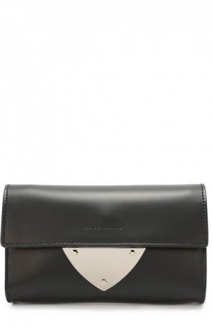 Кожаный клатч B14 Coccinelle. Цвет: черный