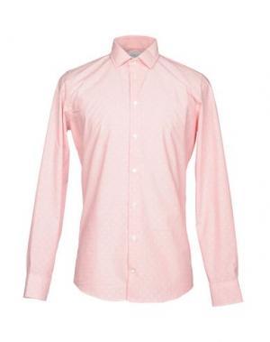 Pубашка RICHARD JAMES. Цвет: розовый