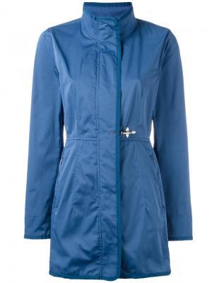 Single breasted coat Fay. Цвет: синий