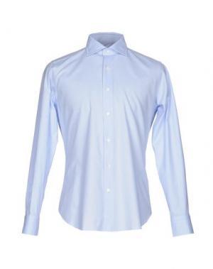 Pубашка MASTAI FERRETTI. Цвет: небесно-голубой