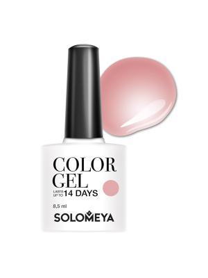 Гель-лак Solomeya Color Gel Andria SCG031/Андриа. Цвет: розовый