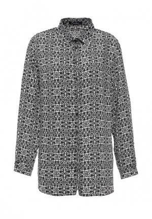 Блуза Pinkline. Цвет: черно-белый