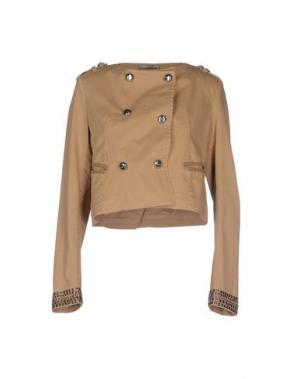 Пиджак TOY G.. Цвет: верблюжий