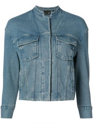 Джинсовая куртка Ag Jeans. Цвет: синий