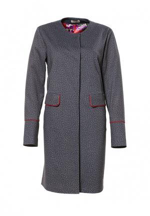 Пальто Grafinia. Цвет: серый