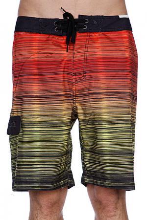 Пляжные шорты  Mercury 21 Boardshort Red Rip Curl. Цвет: красный,зеленый