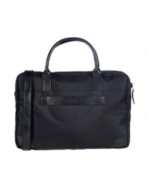Деловые сумки ROYAL REPUBLIQ. Цвет: черный