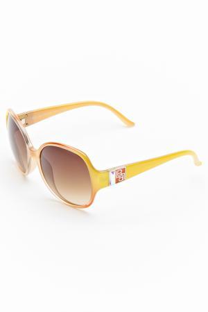 Очки солнцезащитные Laura Biagiotti. Цвет: салатовый