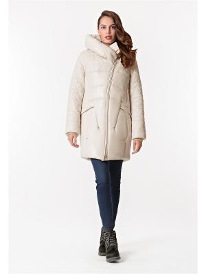 Куртка D`imma. Цвет: молочный