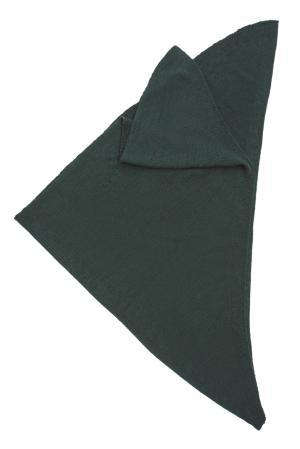 Шаль из шерсти 153305 Norsoyan. Цвет: зеленый