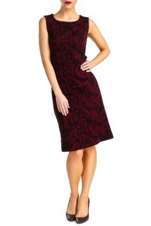 Платье Georgede. Цвет: bordeaux and black