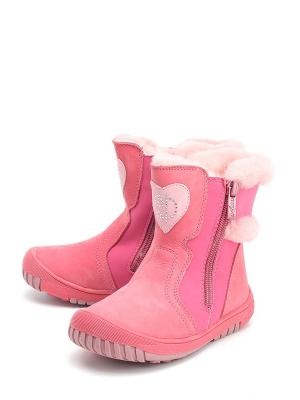 Сапоги DITOP. Цвет: розовый