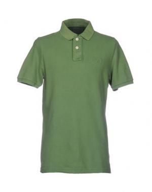 Поло CHARAPA. Цвет: зеленый