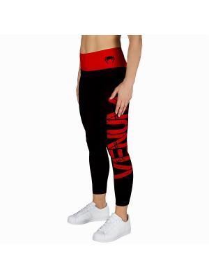 Тайтсы Venum Power - Black/Red. Цвет: черный, красный