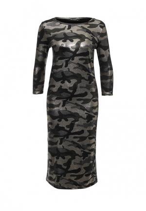 Платье Zeza. Цвет: хаки