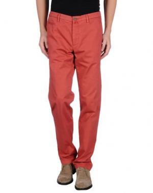 Повседневные брюки RE.BELL. Цвет: кирпично-красный