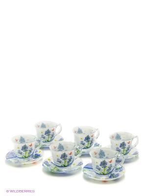 Набор чайный Bekker. Цвет: синий