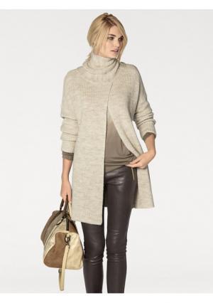 Пуловер Rick Cardona. Цвет: бежевый меланжевый