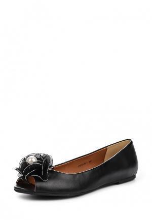 Туфли Inario. Цвет: черный