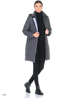 Пальто JATTA Maritta. Цвет: сливовый