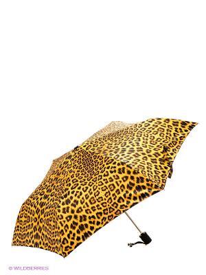 Зонт Labbra. Цвет: желтый, коричневый