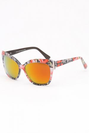 Очки солнцезащитные Lina Latini. Цвет: оранжевый