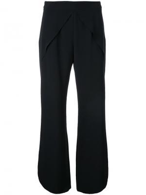 Укороченные брюки с закругленными краями Goen.J. Цвет: чёрный