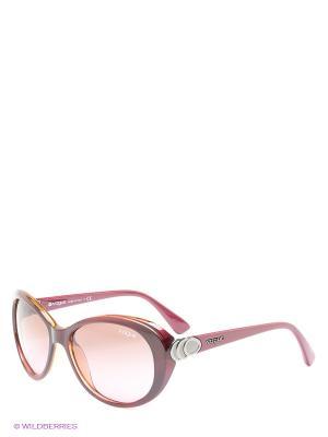 Очки солнцезащитные Vogue. Цвет: сливовый