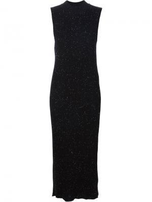 Облегающее платье Ryan Roche. Цвет: чёрный