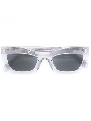 Солнцезащитные очки Céline Eyewear. Цвет: серый